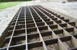 Venkovní kovová rohož bez odvodu vody